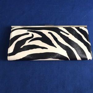 Handbags - Stylish Zebra Clutch